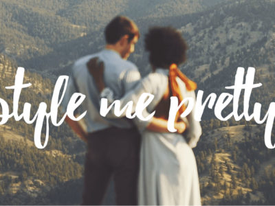 Style Me Pretty Featured - Mimi colin Wedding in Colorado