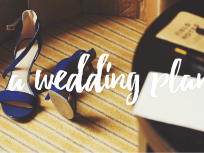 bride shoes Why should I hire a wedding planner